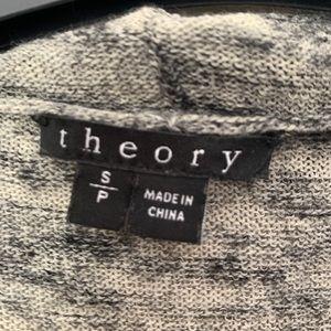 Theory Sweaters - THEORY GREY CARDIGAN (small)